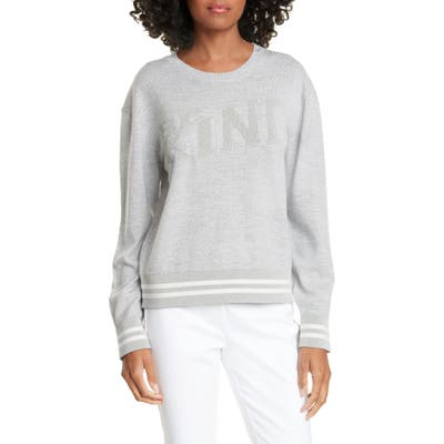 Rag & Bone Reflective Graphic Merino Wool Blend Sweater