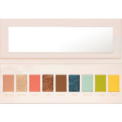 Jouer Tan Lines Matte, Shimmer & Luxe Foil Eyeshadow Palette - No Color