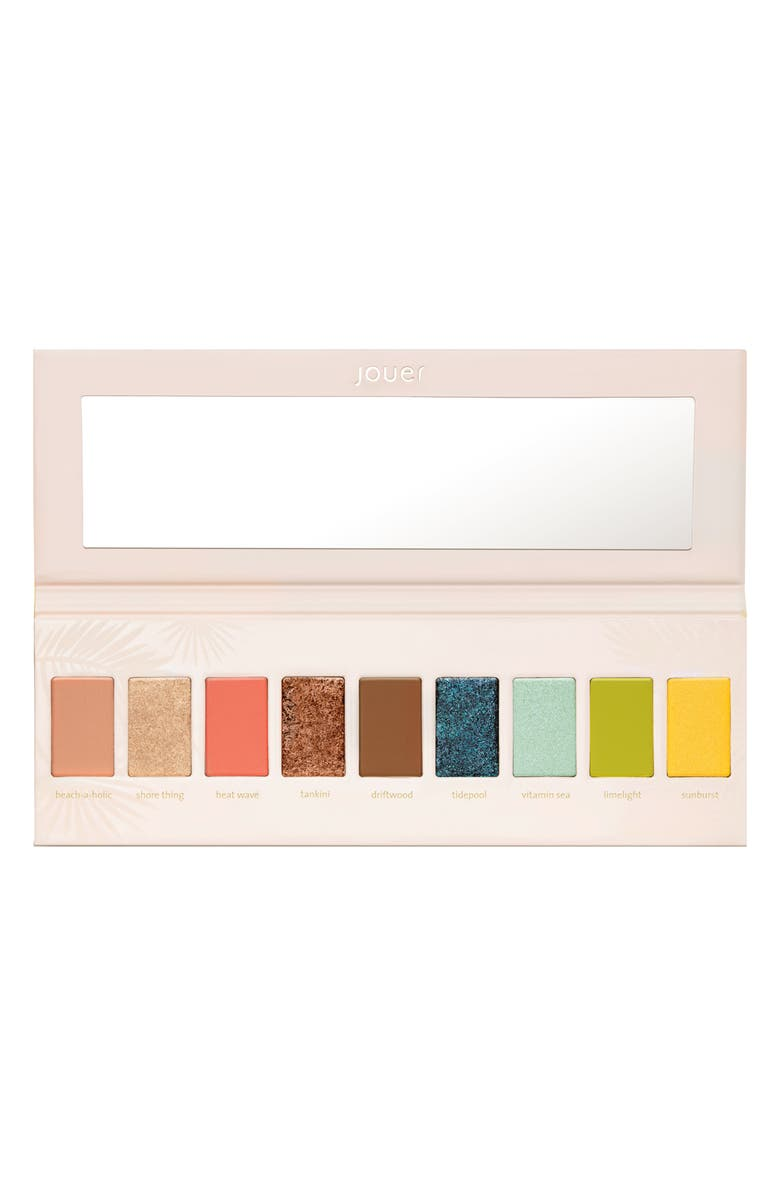 Jouer Tan Lines Matte Shimmer Luxe Foil Eyeshadow Palette Limited Edition