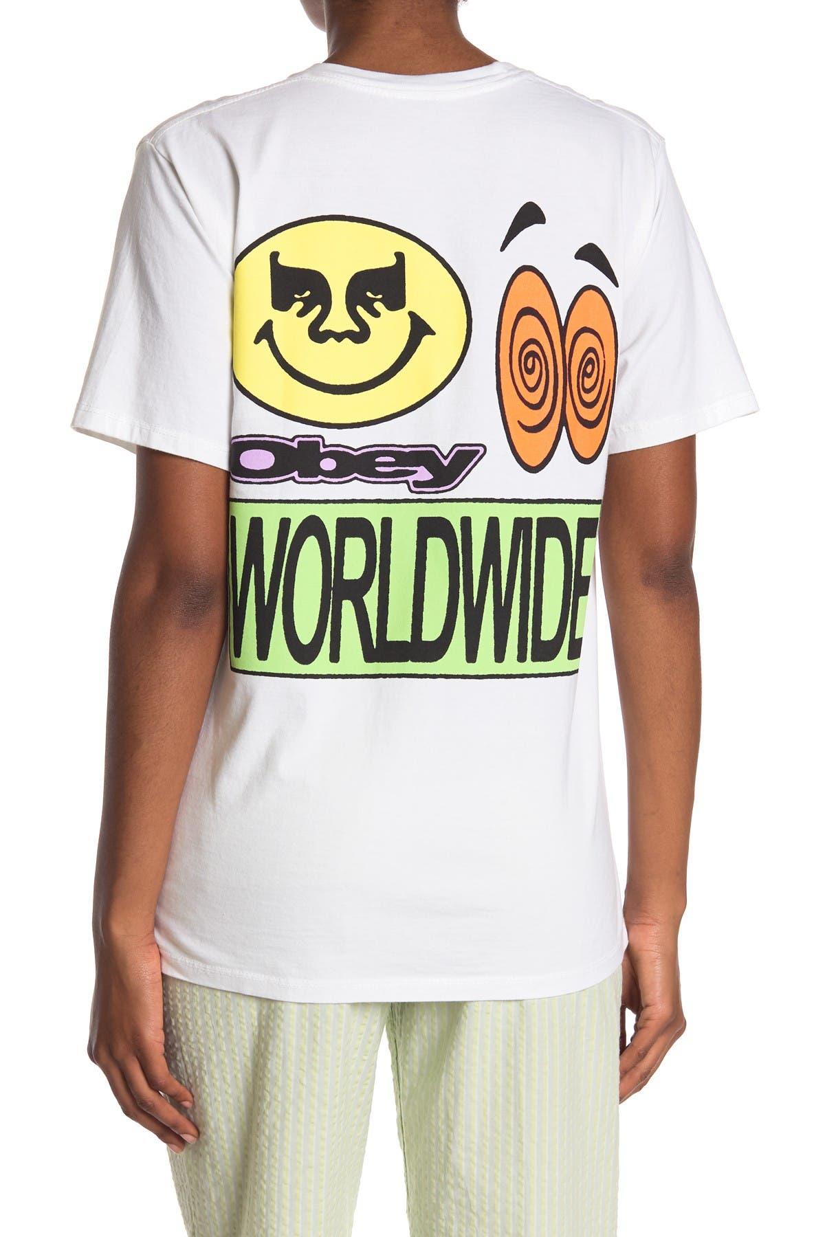 Image of Obey Acid Crash Short Sleeve T-Shirt