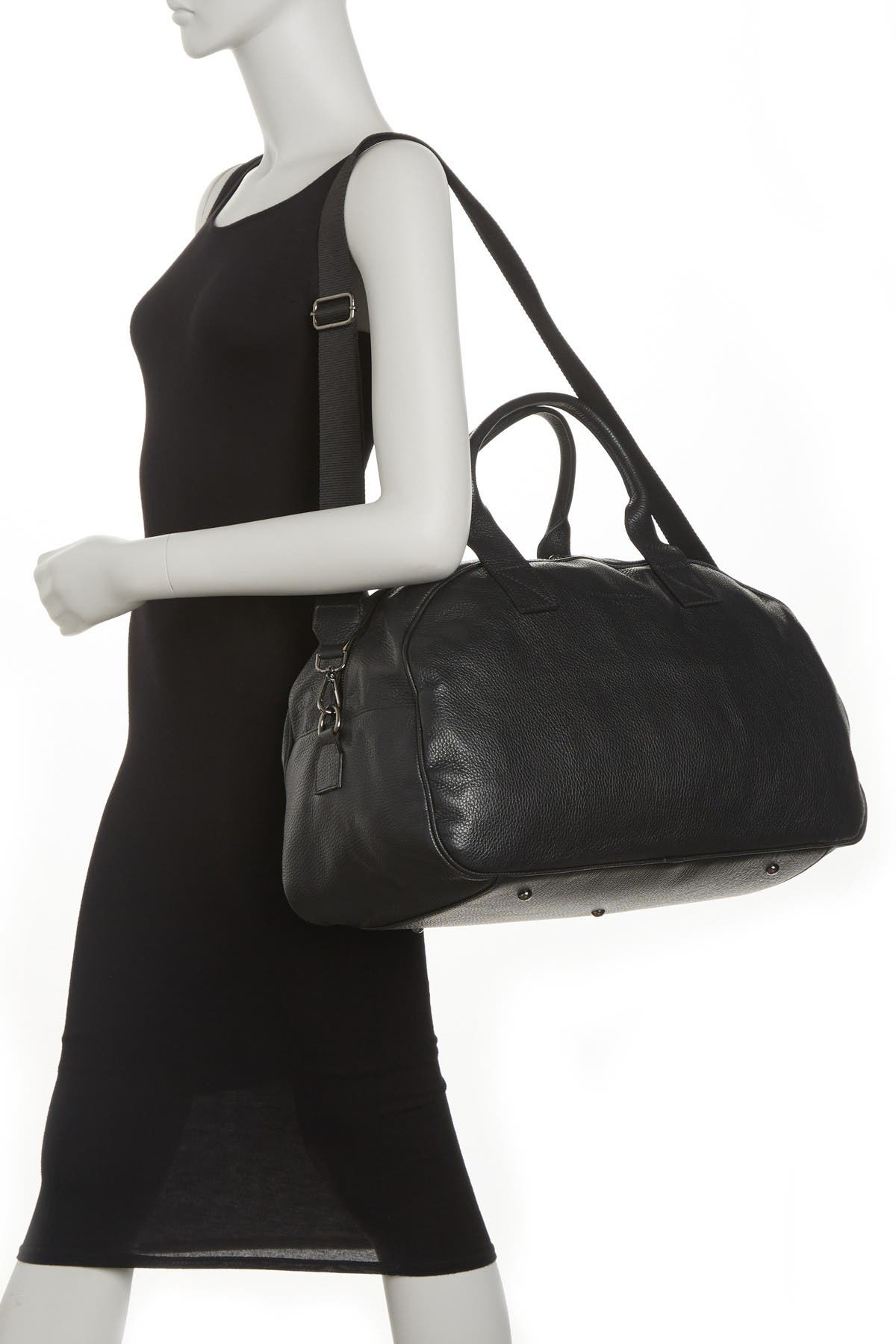Image of Maison Heritage Sport Leather Bowling Bag