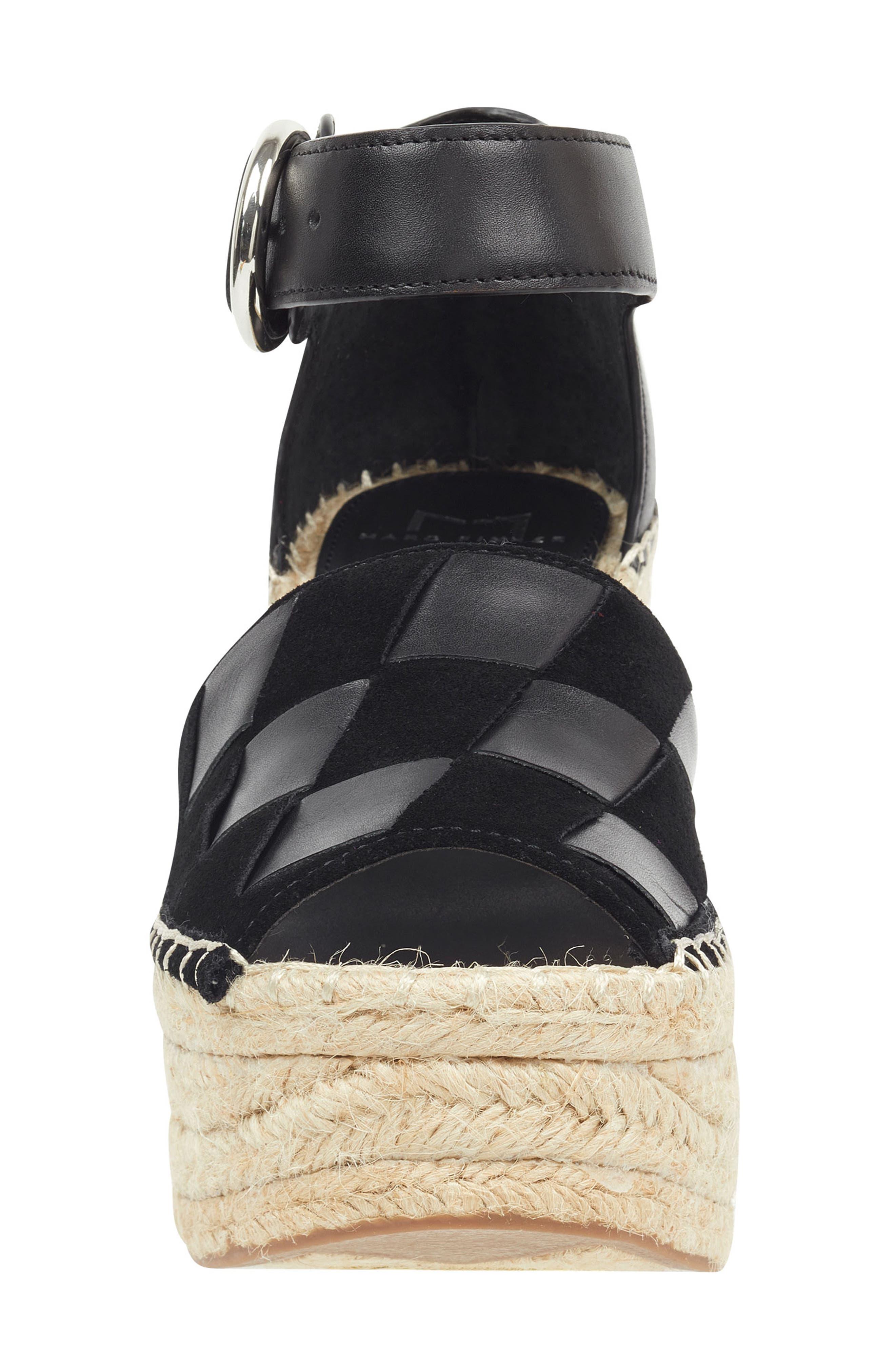 ,                             Adalla Platform Wedge Sandal,                             Alternate thumbnail 11, color,                             001
