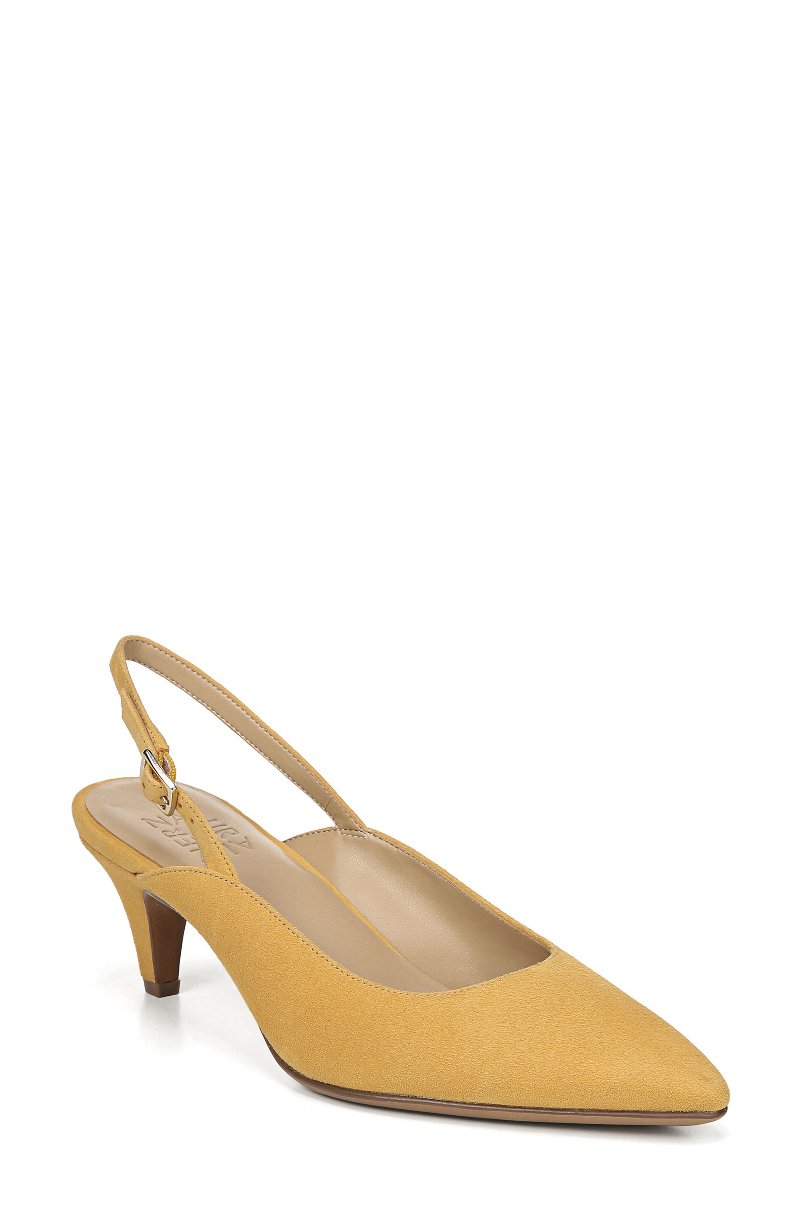Naturalizer Baylee Slingback Pump, Yellow