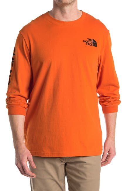 Image of The North Face Logo Long Sleeve T-Shirt