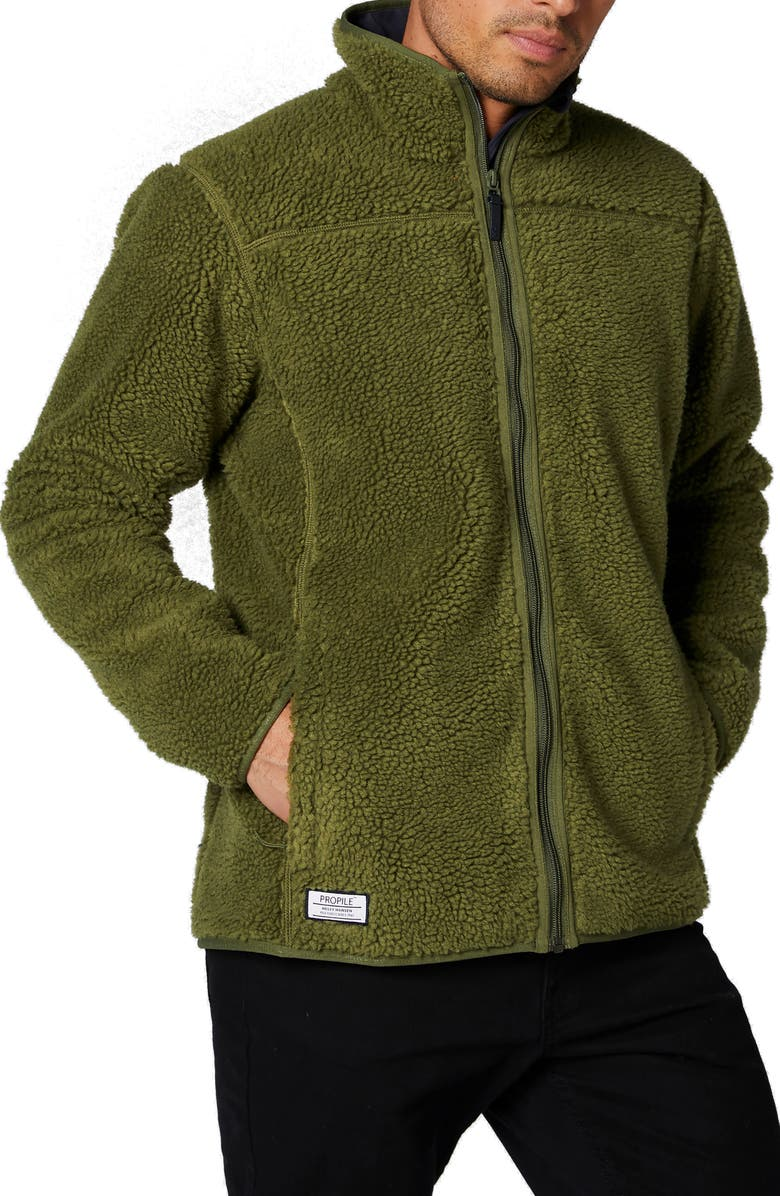 HELLY HANSEN September Propile Jacket, Main, color, IVY GREEN