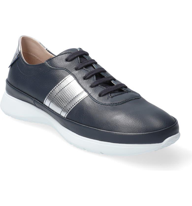 MEPHISTO Merania Sneaker, Main, color, NAVY LEATHER