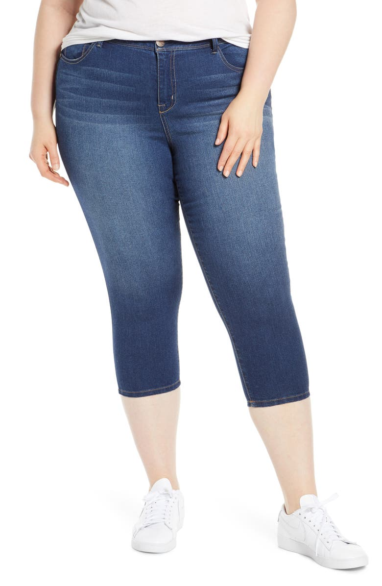 1822 DENIM Super Crop Jeggings, Main, color, ZIGGY