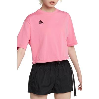 Nike Acg Short Sleeve Top, Pink
