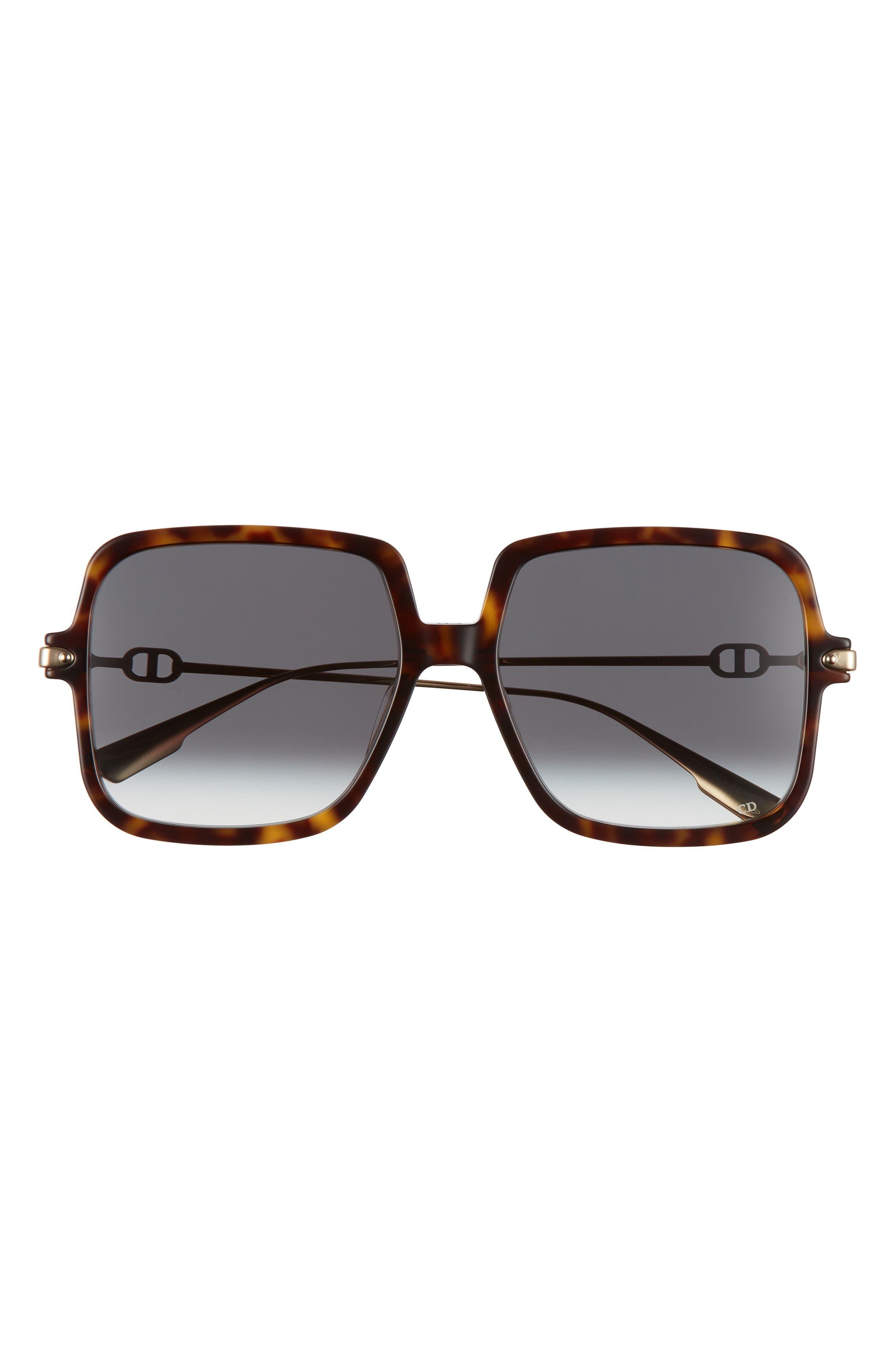 Image of Dior link1 58mm Gradient Square Sunglasses