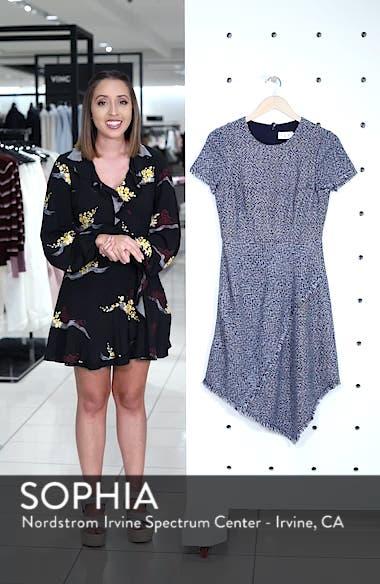 Asymmetrical Tweed Dress, sales video thumbnail