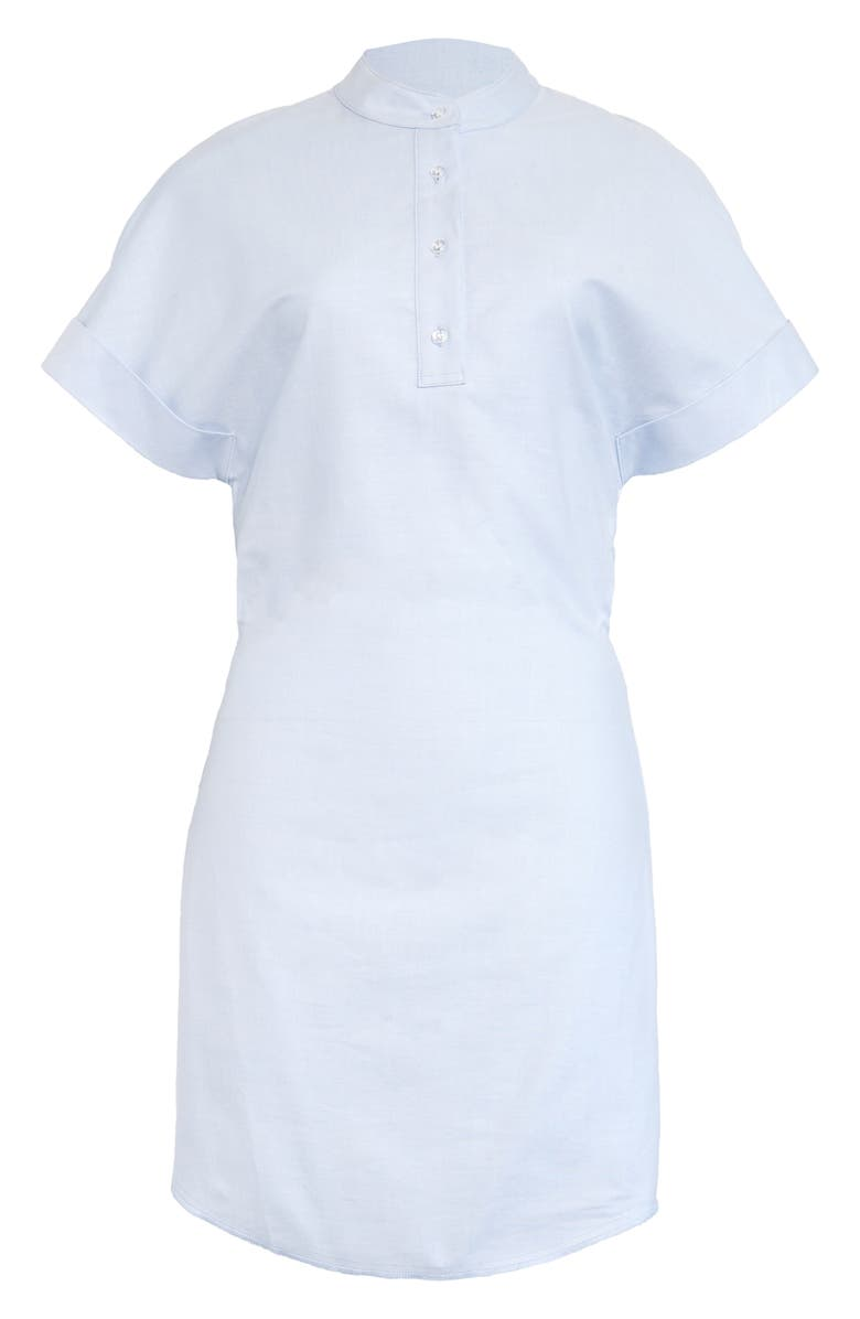 RTA Leigh Cotton Poplin Shirtdress, Main, color, BLUE OXFORD