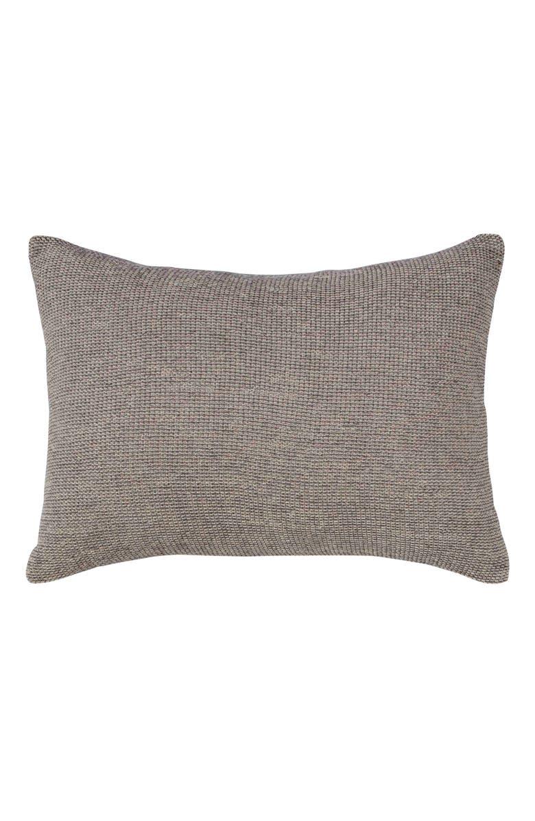 ED ELLEN DEGENERES Tulare Bicolor Knit Accent Pillow, Main, color, 250
