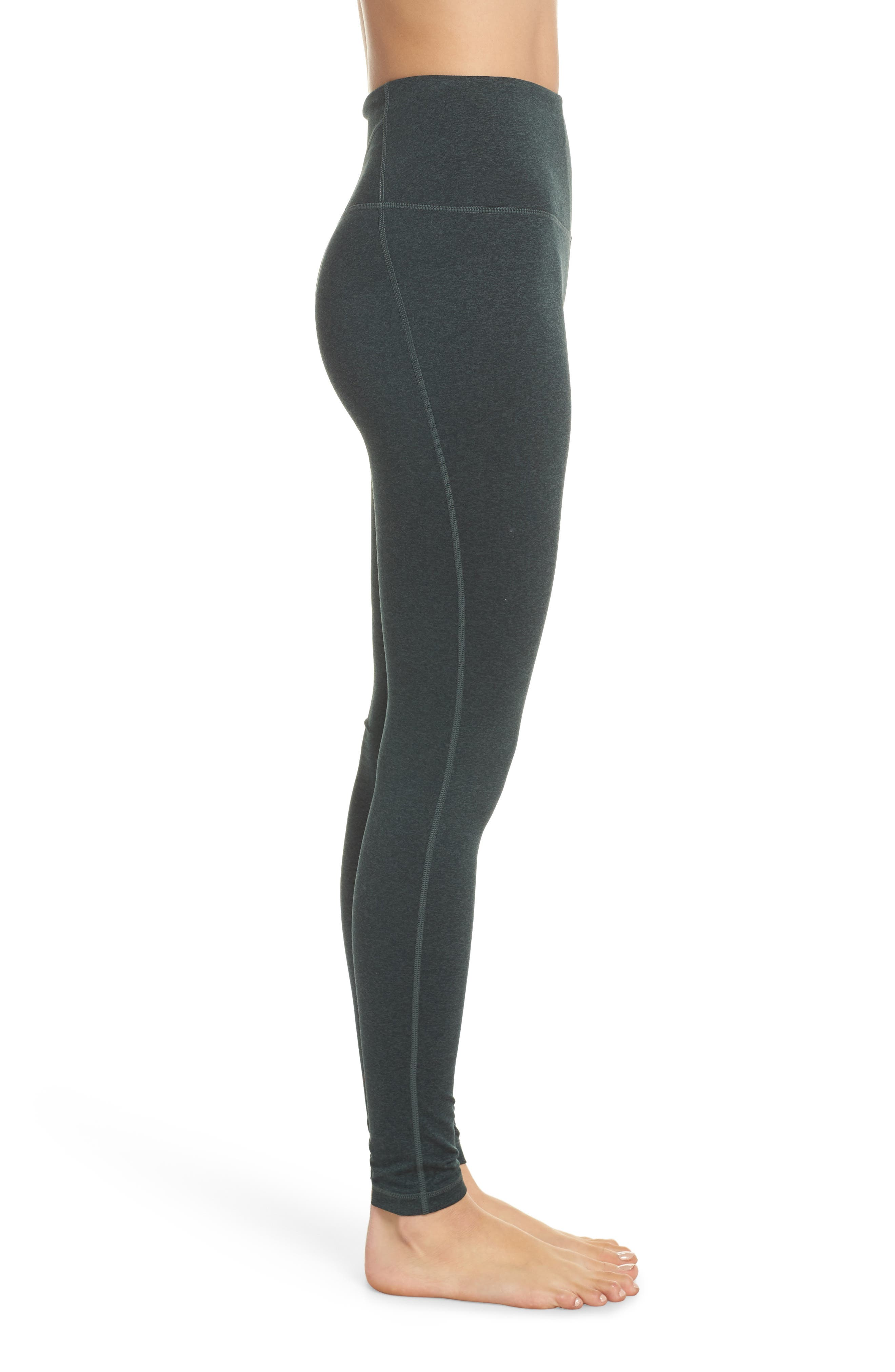 ,                             Live In High Waist Leggings,                             Alternate thumbnail 4, color,                             GREY URBAN GREEN GABLES CD
