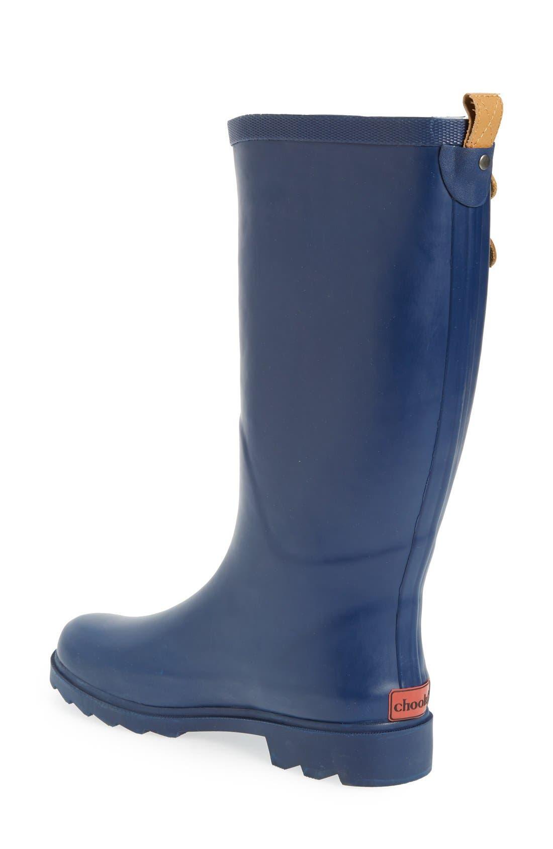 ,                             'Top Solid' Rain Boot,                             Alternate thumbnail 56, color,                             402