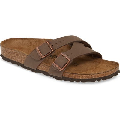 Birkenstock Yao Slide Sandal, Brown