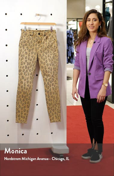 Leopard Skinny Jeans, sales video thumbnail