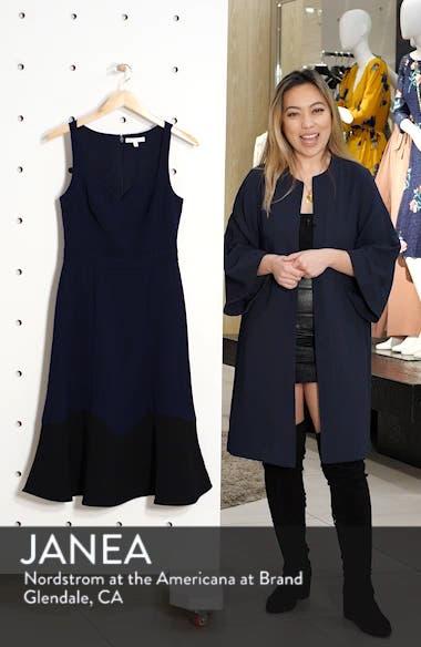 Colorblock Hem Cocktail Dress, sales video thumbnail