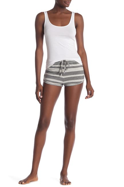 Image of Honeydew Intimates Sleep Queen Ribbed Knit Shorts