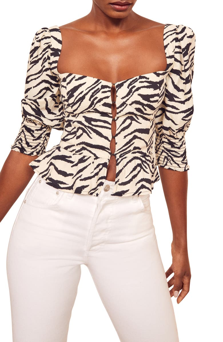 REFORMATION Dallas Top, Main, color, 001