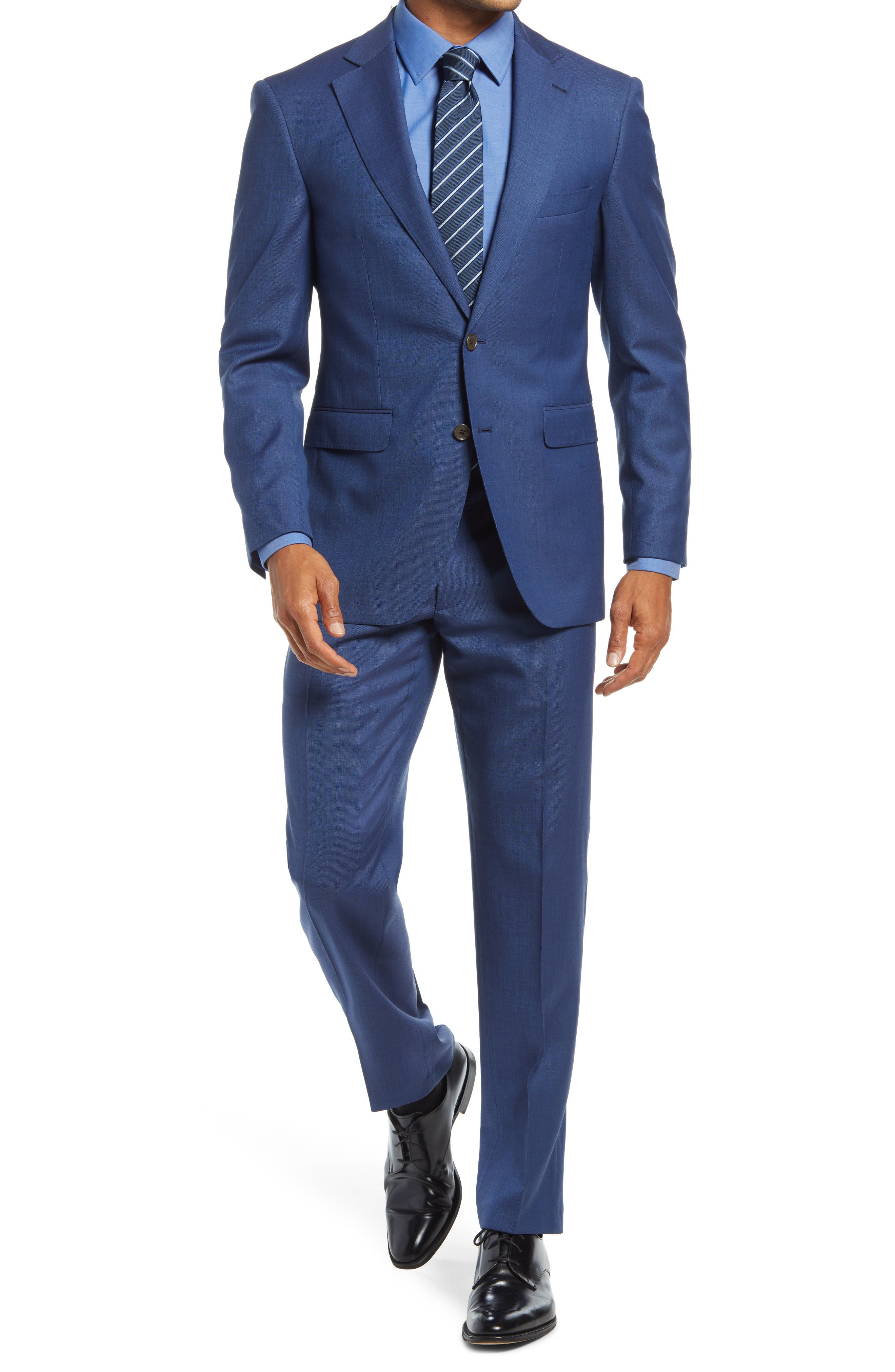 The Essential Stretch Wool Suit