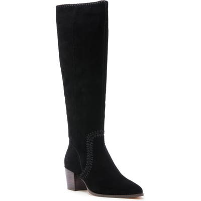 Sole Society Alexie Knee High Boot, Black