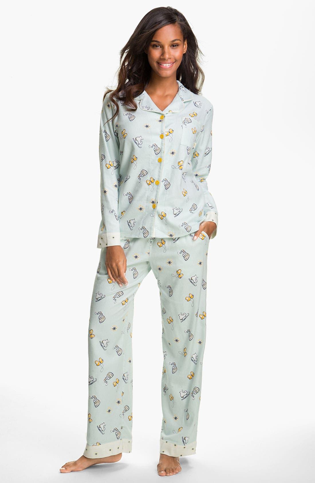 ,                             Flannel Pajamas,                             Main thumbnail 25, color,                             428