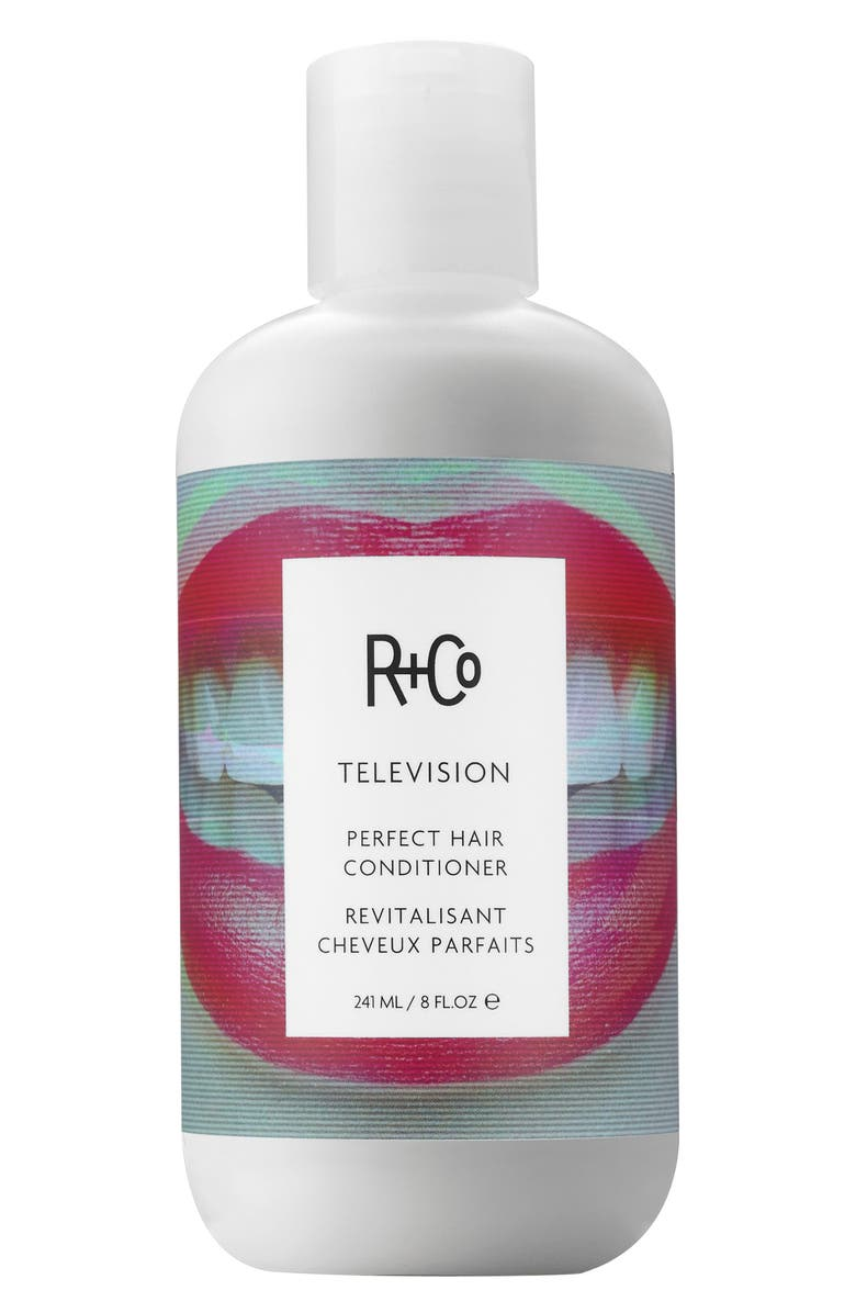R+CO Television Perfect Hair Conditioner, Main, color, NO COLOR