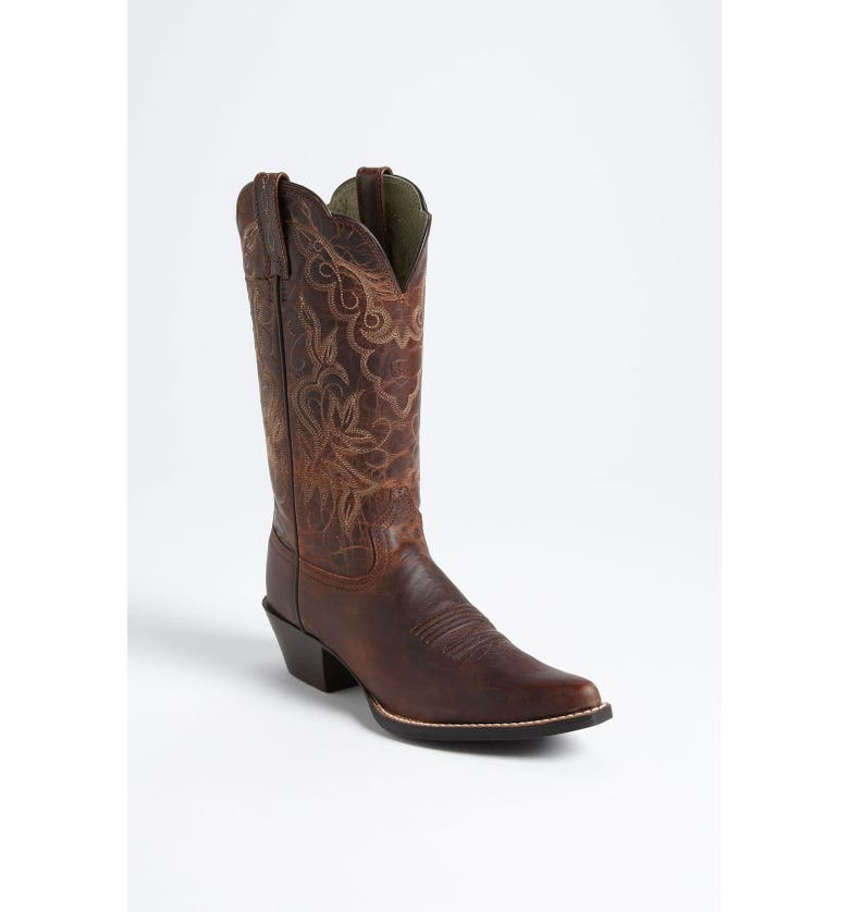 ARIAT 'Heritage Western J Toe' Boot, Main, color, 240