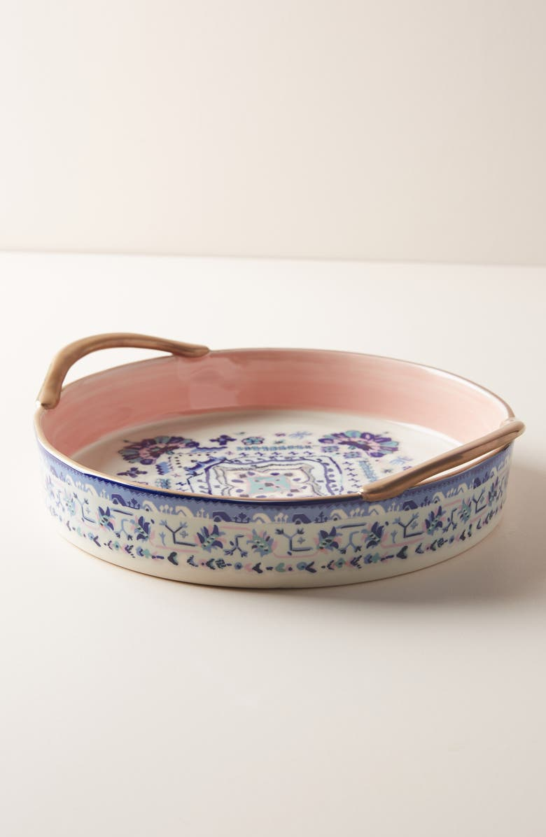 ANTHROPOLOGIE HOME Anthropologie Lilia Pie Dish, Main, color, 440