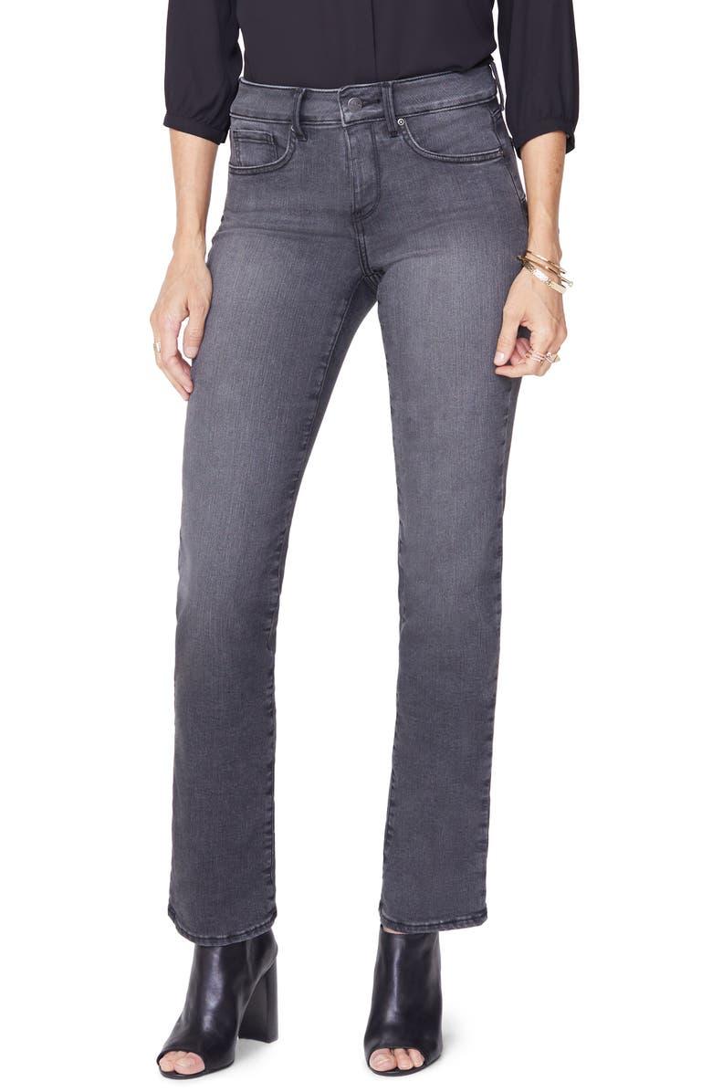 NYDJ Marilyn Straight Uplift Jeans, Main, color, WESTCLIFF