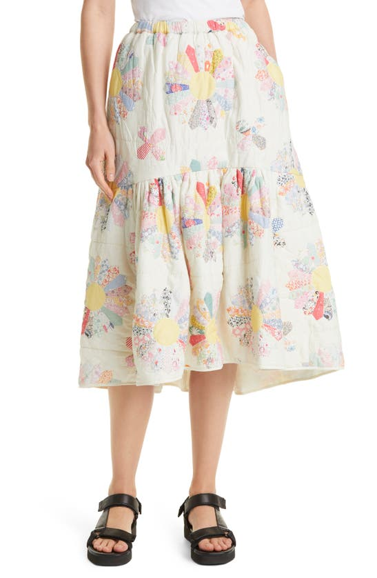 Sea Cottons QUILTED SKIRT
