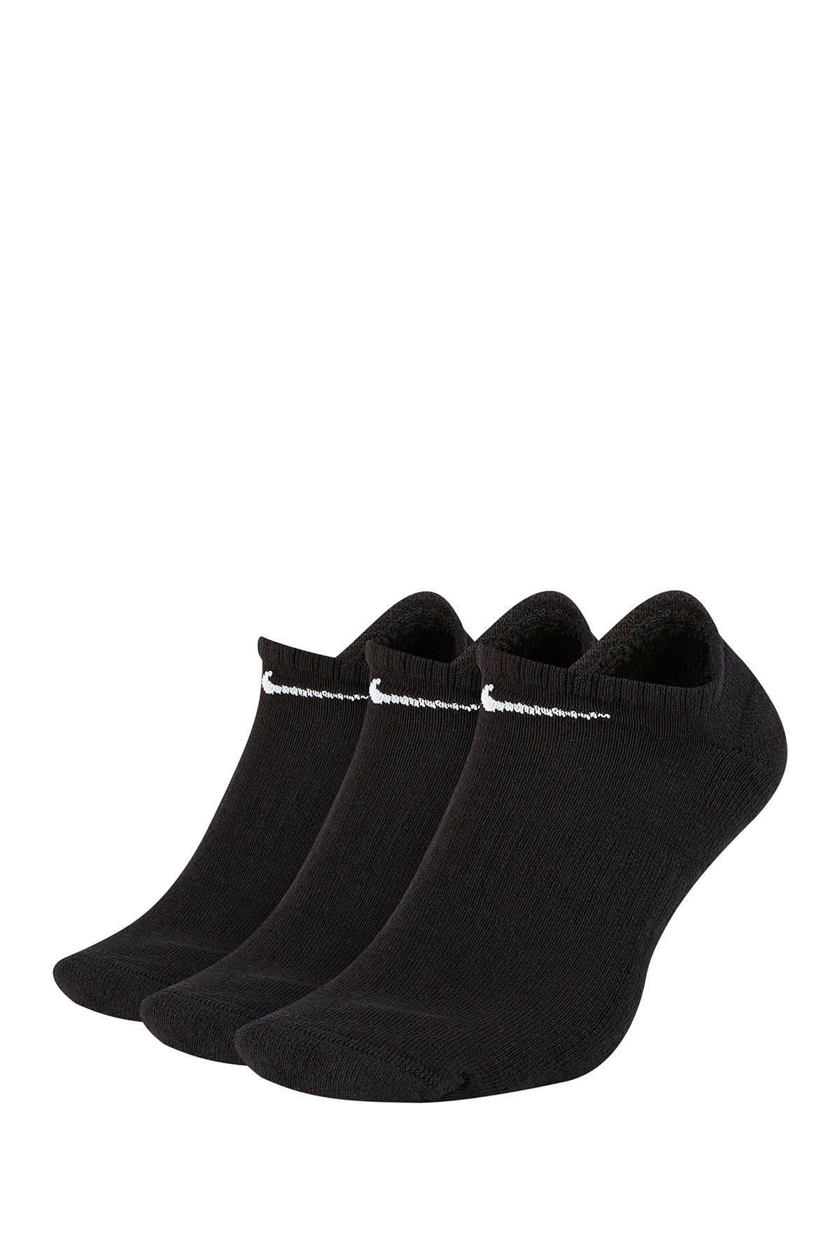 Image of Nike Everyday Cushion Training No-Show Socks - Pack of 3