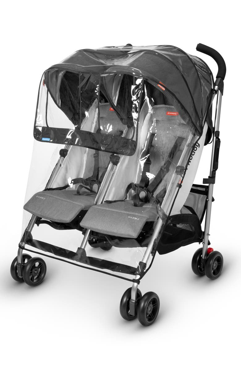 UPPABABY Rain Shield for UPPAbaby G-LINK<sup>™</sup> Side by Side Double Strollers, Main, color, CLEAR
