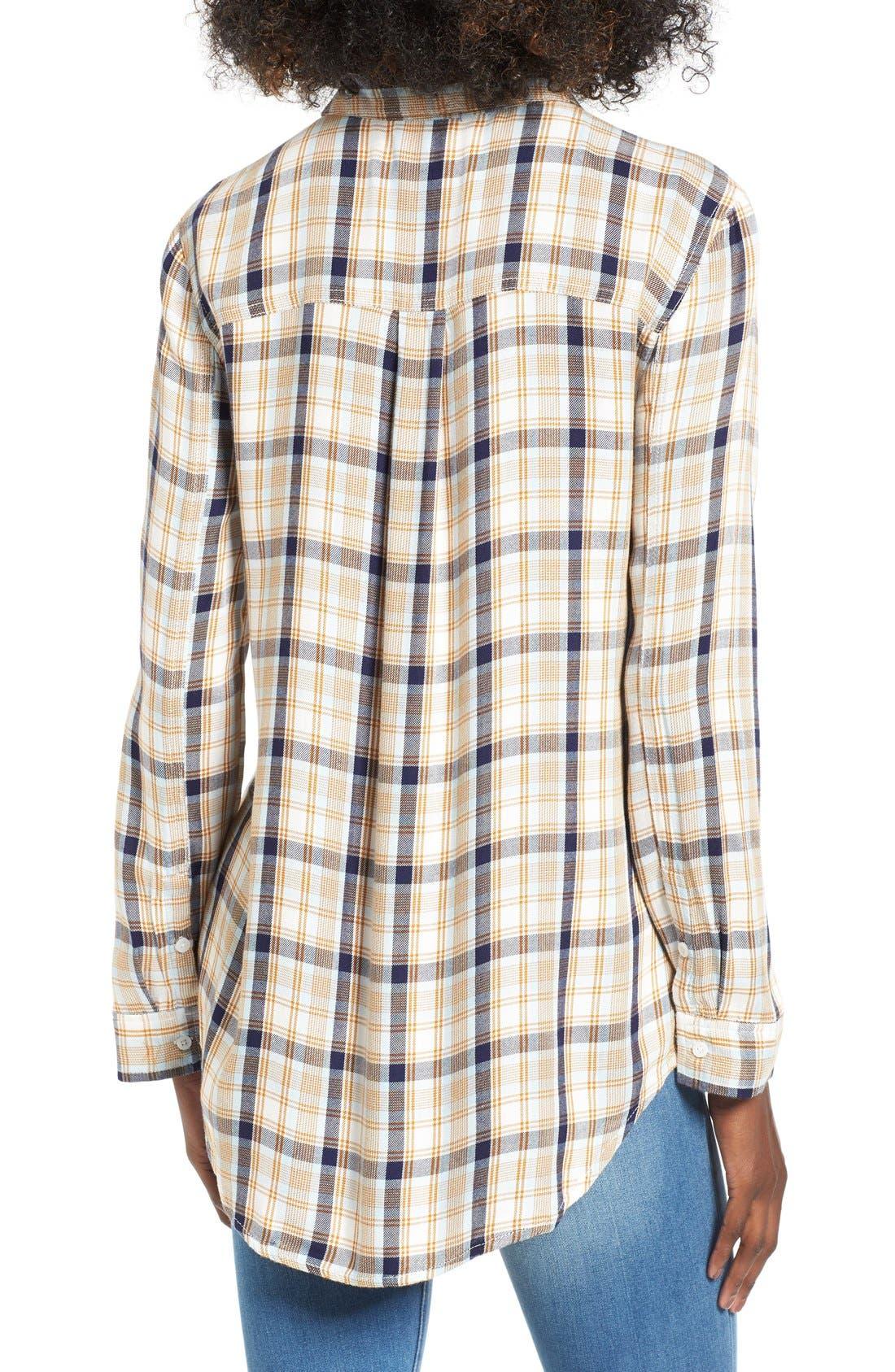 ,                             Plaid Tunic Shirt,                             Alternate thumbnail 47, color,                             900