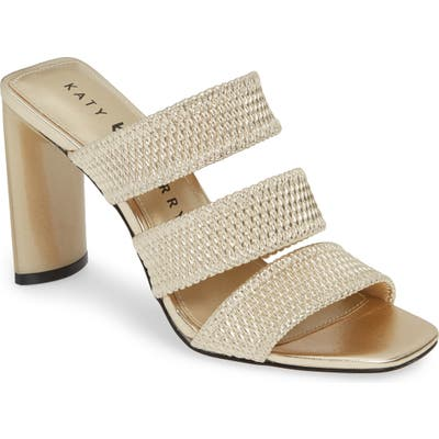 Katy Perry Cali Quilted Strap Sandal