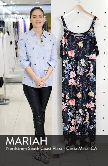 Cold Shoulder Floral Maxi Dress, sales video thumbnail