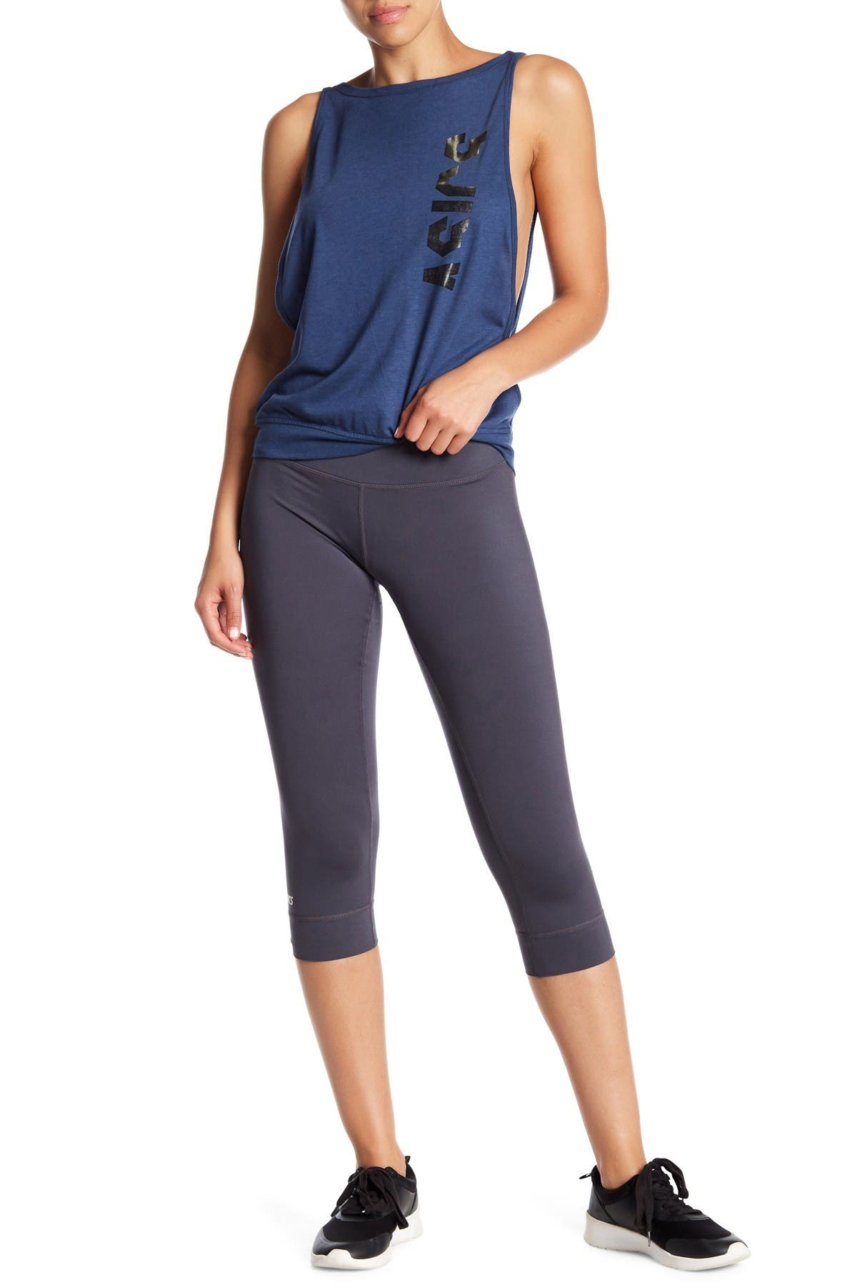 Image of ASICS 3/4 Length Capri Leggings
