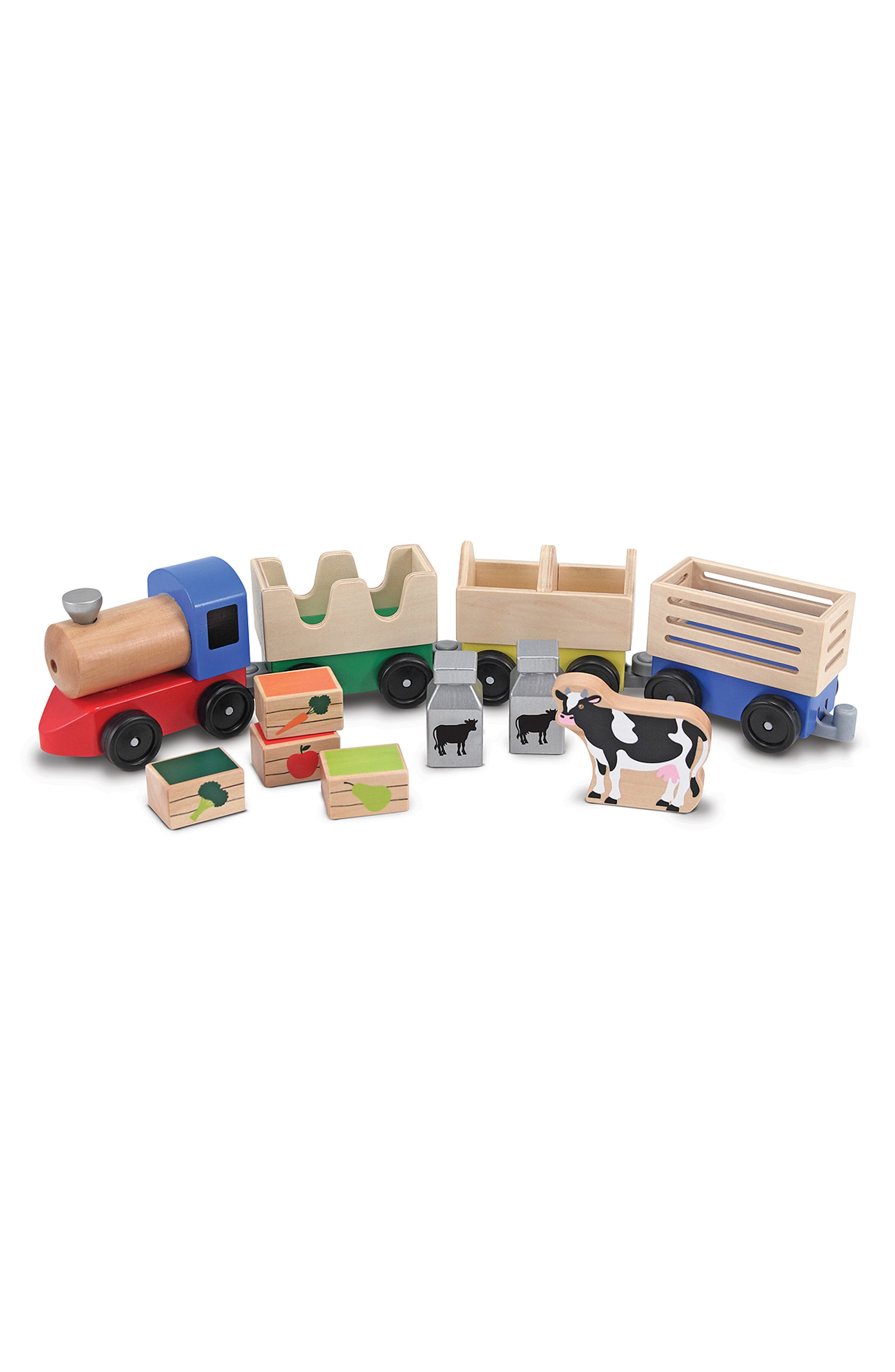 Toddler Melissa  Doug Wooden Toy Bundle