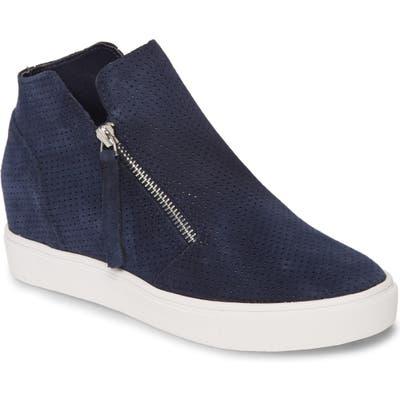 Steve Madden Caliber High Top Sneaker, Blue