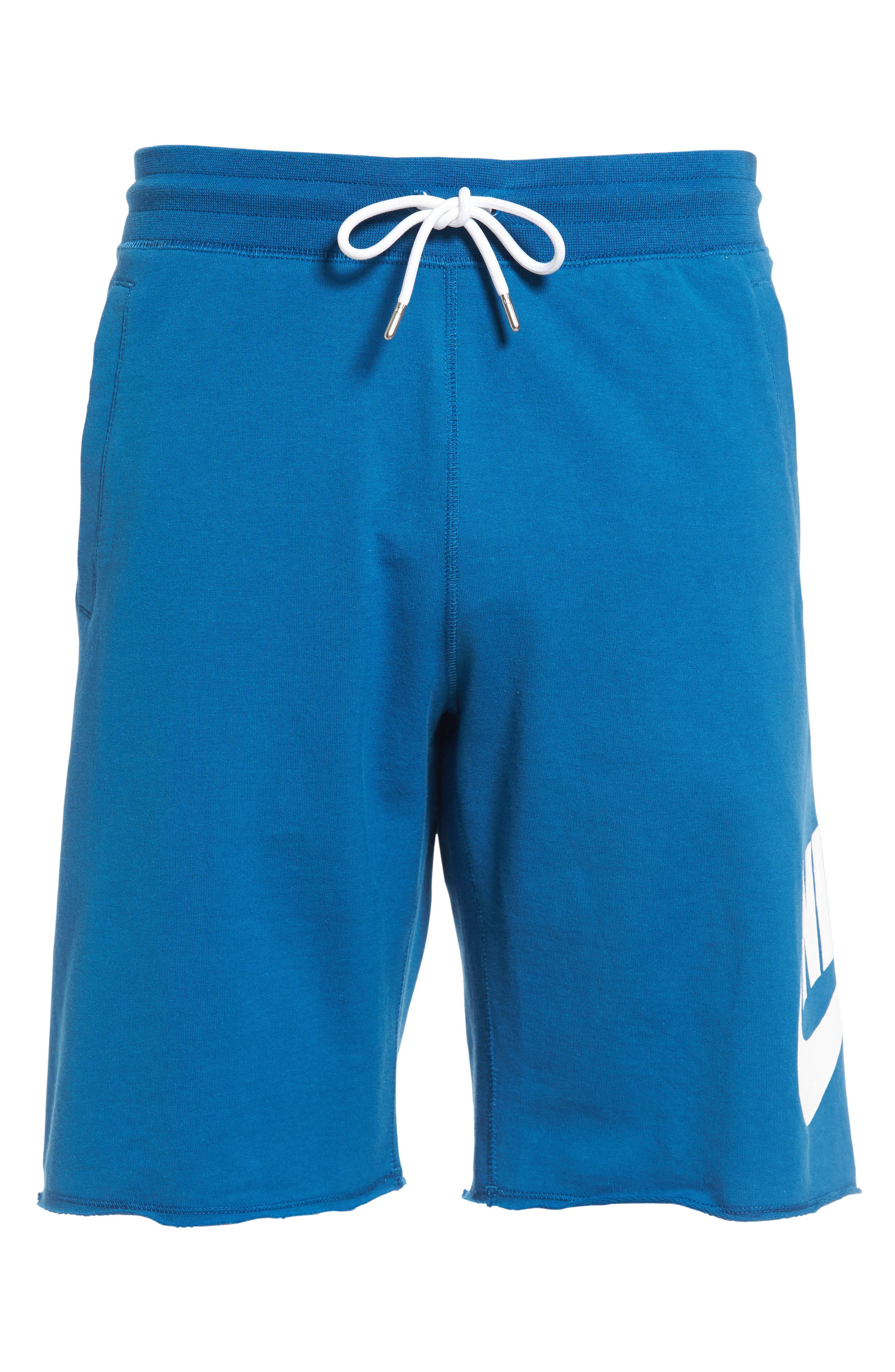 ,                             'NSW' Logo French Terry Shorts,                             Alternate thumbnail 29, color,                             457