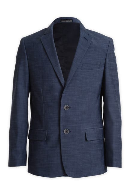 Image of Calvin Klein Plain Weave Suit Separate Jacket