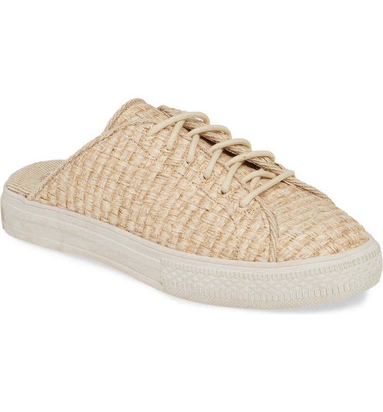 BAND OF GYPSIES Coast Sneaker Mule, Main, color, SAND WOVEN