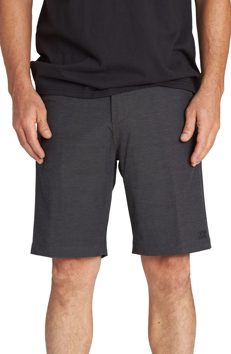 BILLABONG Crossfire X Hybrid Shorts, Main, color, ASPHALT