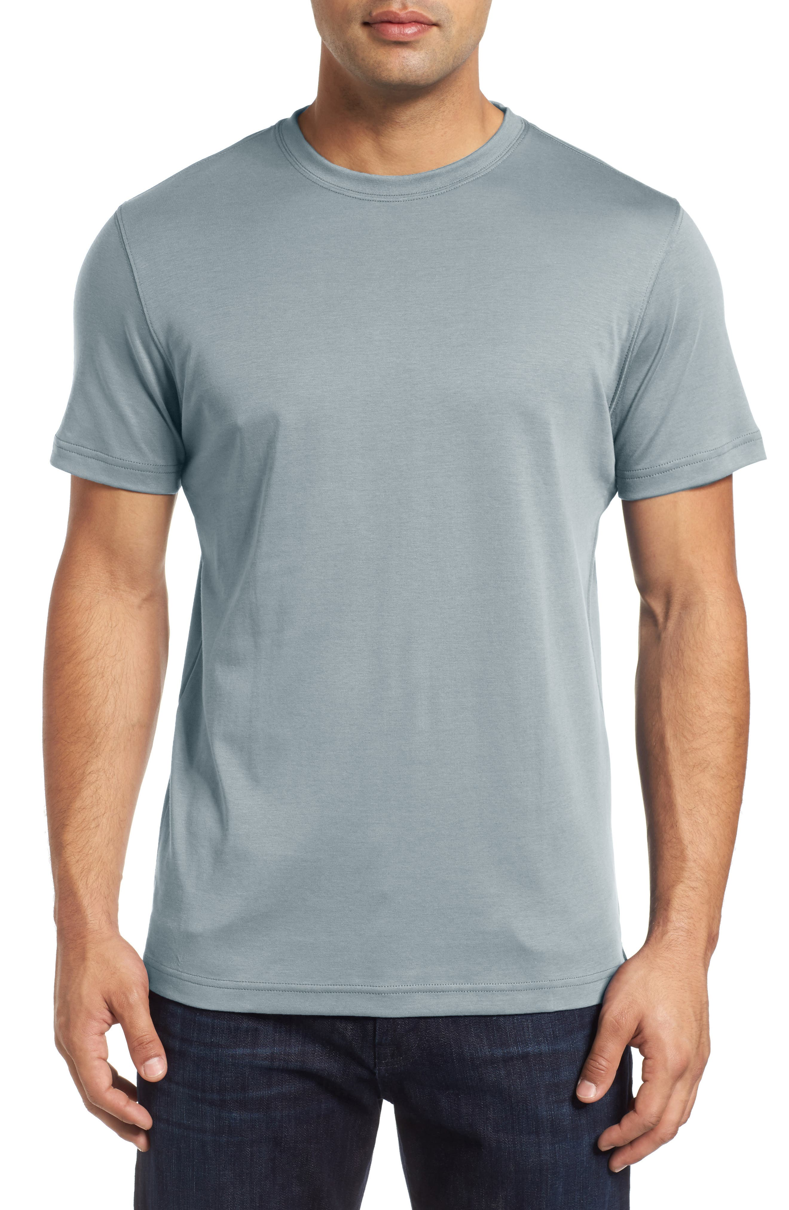 ,                             Georgia Crewneck T-Shirt,                             Main thumbnail 153, color,                             030