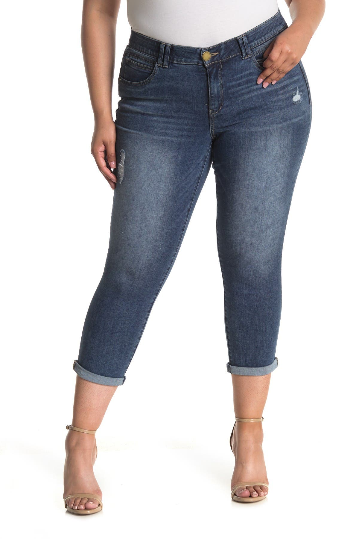 Image of Democracy Ab Technology Ankle Skimmer Jeans