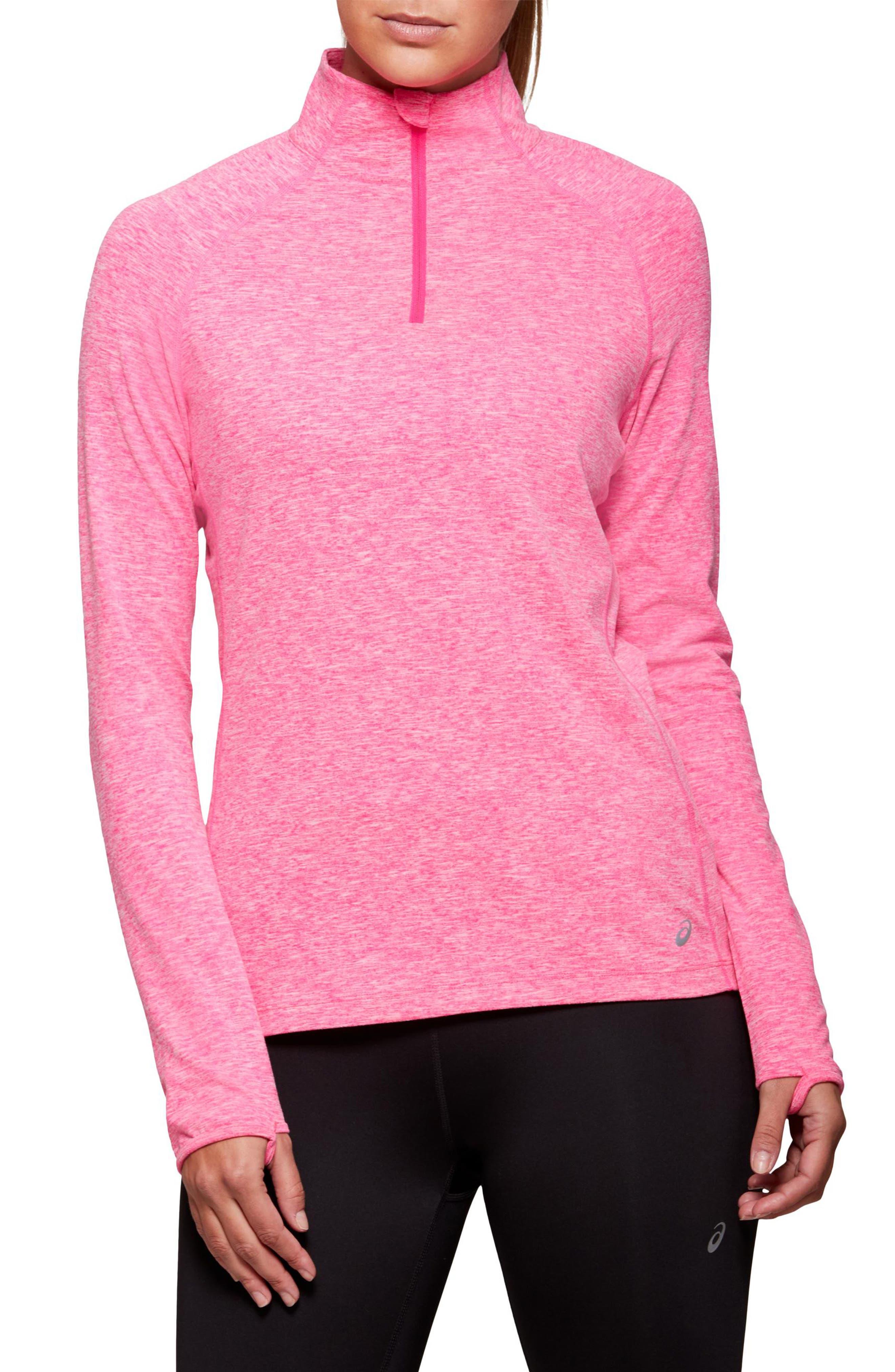 Women's Asics Dorai Quarter Zip Pullover