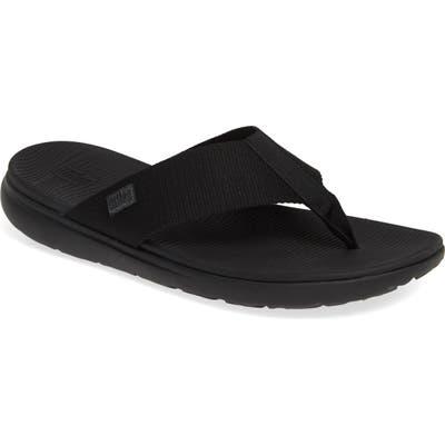 Fitflop Lido Ii Flip Flop, Black