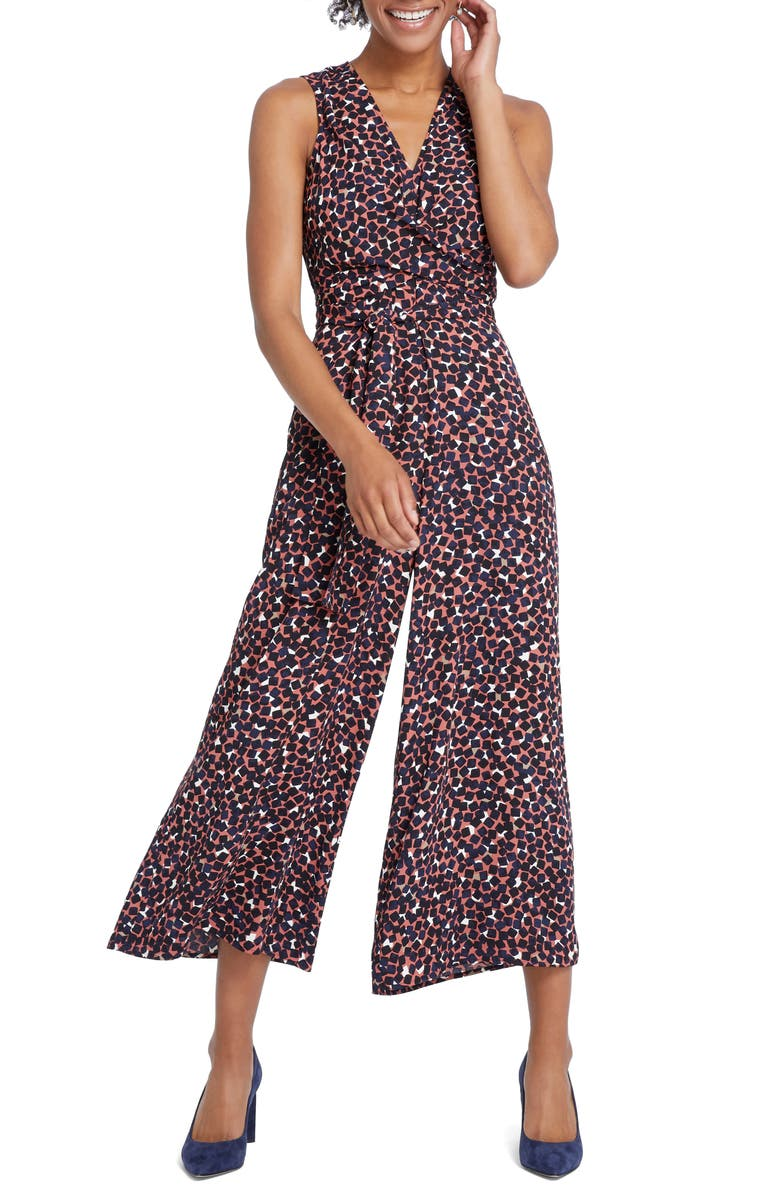 NIC+ZOE Mover & Shaker Jumpsuit, Main, color, MULTI