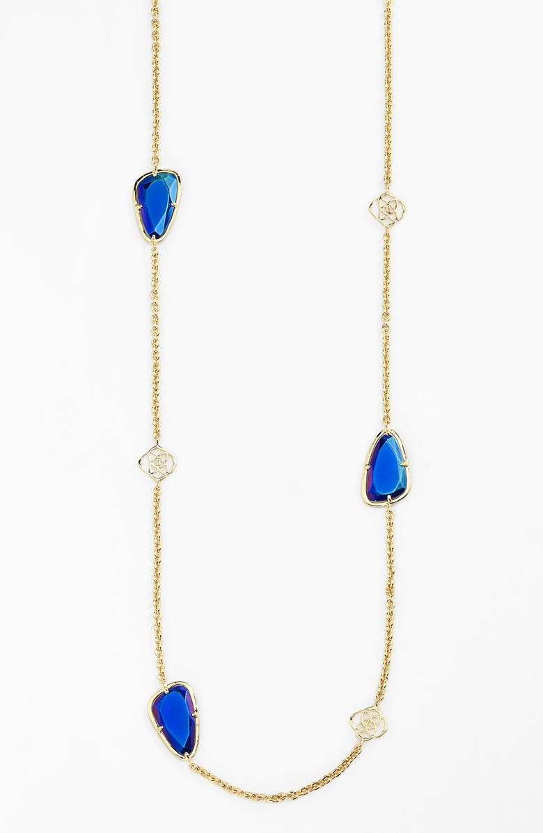 1be355339 Kendra Scott 'Kinley' Long Station Necklace (Nordstrom Exclusive) |  Nordstrom