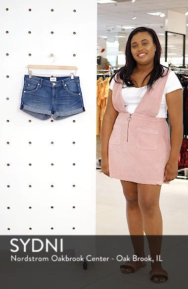 Cuff Denim Shorts, sales video thumbnail